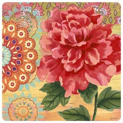 Bloom square 4 by jennifer brinley ruth levison design - Papel decoupage infantil ...