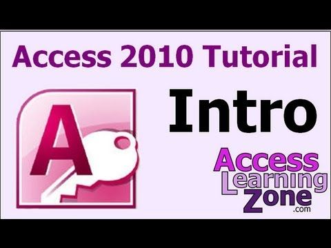 Microsoft Access 2010 handleiding