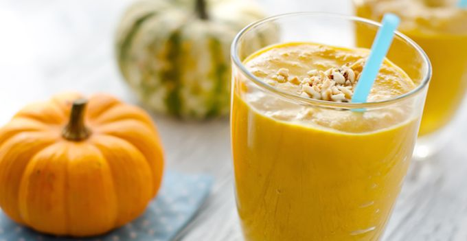 Hello Thanksgiving! This festive fall smoothie calls for an irresistible mixture of pumpkin puree, frozen banana, pumpkin pie spice, and homemade almond milk. (Store bought is fine in this recipe, too, though the homemade version will be creamier!) Pro Tip: Don't have pumpkin pie spice? Make your own by combining 1/4 teaspoon ground cinnamon, 1/8...