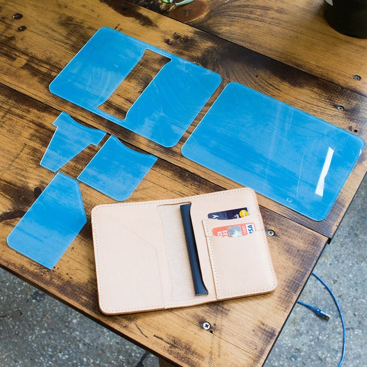 V2 Leder Reisepasshülle Acryl Template Set Leathercraft | Etsy   – accesorios