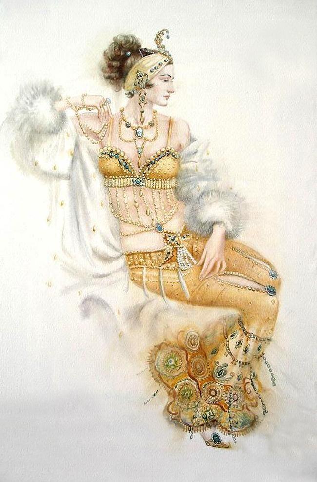 Women Art Nouveau ... Svetlana Ovinova. Discussion on LiveInternet - Russian Service Online diary