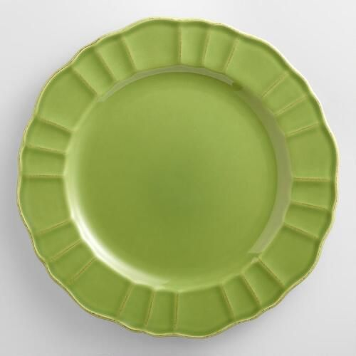 One of my favorite discoveries at WorldMarket.com: Verde Dinner Plates, Set of 4