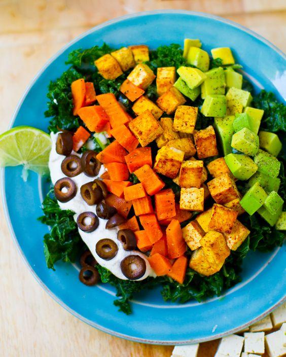 My Mexi-Chopp Salad! - Healthy. Happy. Life.: Vegans Sweet, Vegans Mexicans, Sour Cream, Mexicans Chops Salad, Vegans Salad, Apples Cider Vinegar, Vegans Life, Vegans Mexi Chopp, Mexi Chopp Salad