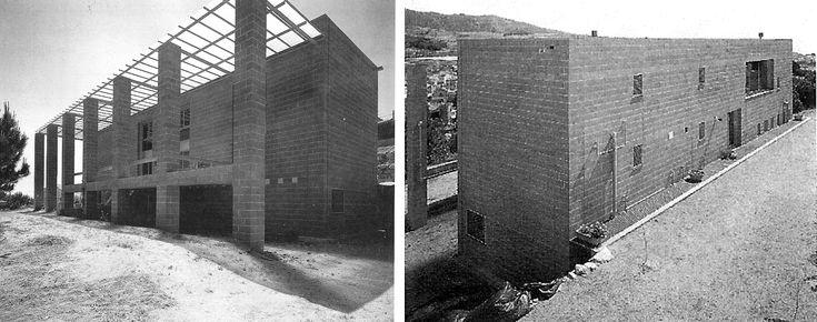 Alfons Soldevila, Josep Ignasi Llorens, casa experimental MR6 exterior