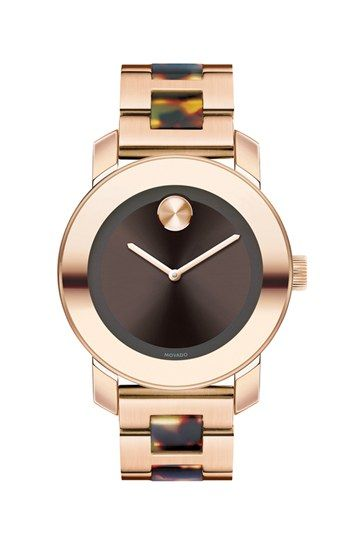 Movado 'Bold' Round Bracelet Watch, 36mm available at #Nordstrom