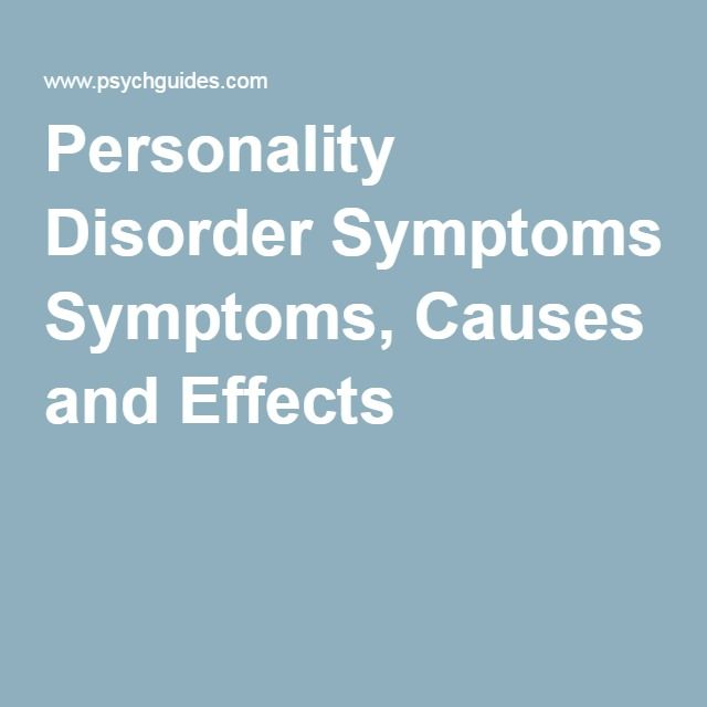 bipolar disorder causes symptoms and treatment Learn about bipolar disorder, its symptoms and what can be done about it with   this disorder tend to get worse over time if they do not get the proper treatment.