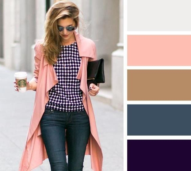 the coat, thin coat fabric in pink color?