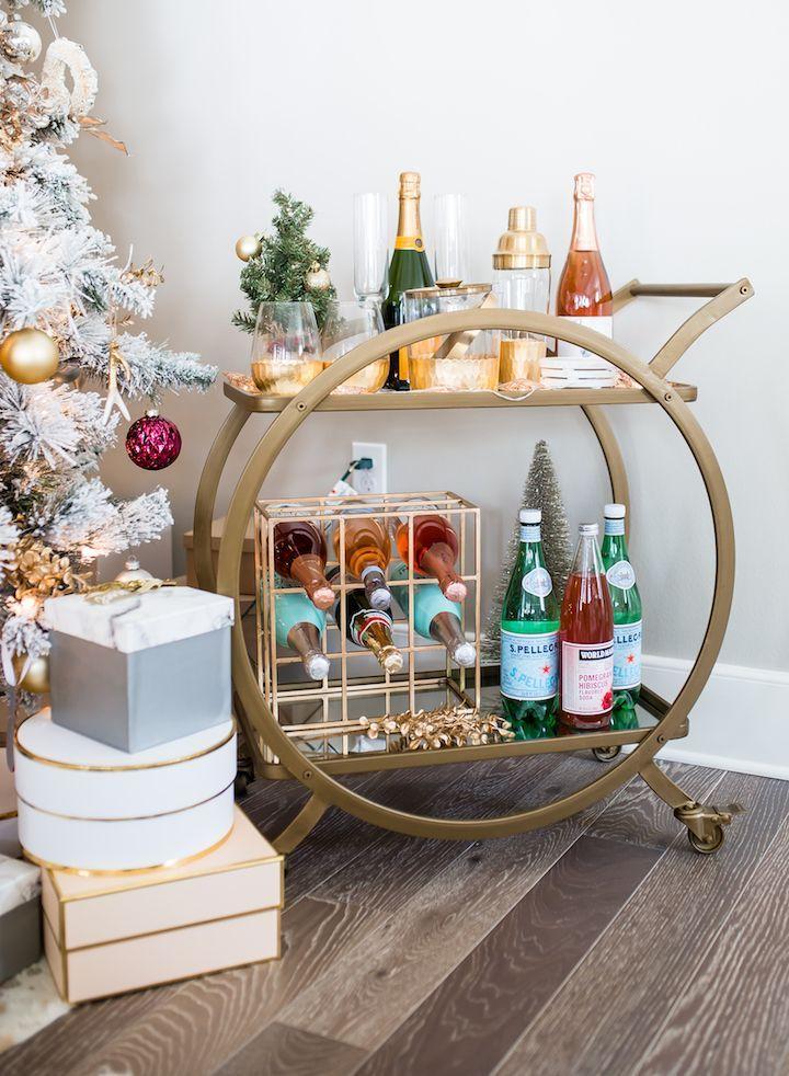 best 25 gold bar cart ideas on pinterest bar cart decor bar cart and contemporary bar carts. Black Bedroom Furniture Sets. Home Design Ideas