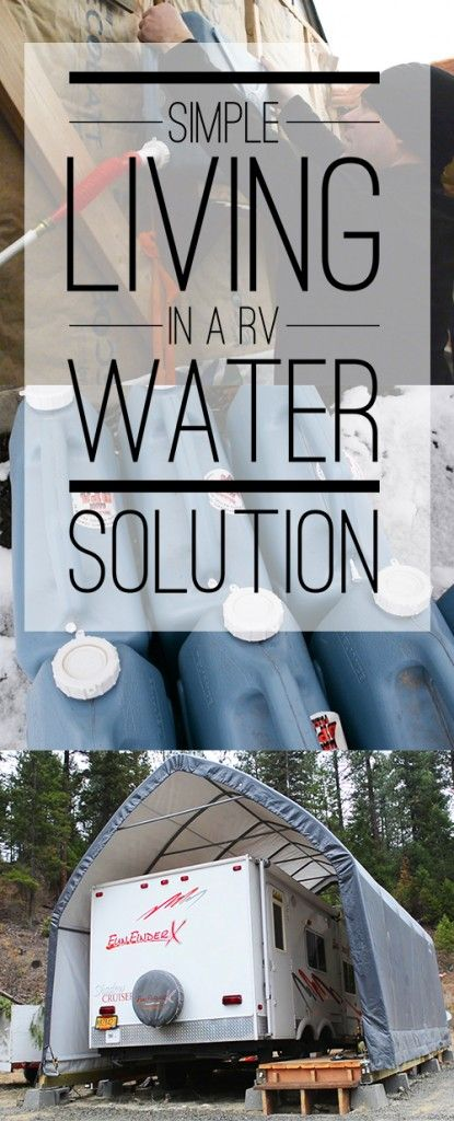 GENIUS water hack for living #offthegrid in an rv! Great for anyone starting their #homestead from scratch. #boondocking #offgrid