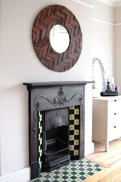 Edwardian fireplace, so similar to mine.