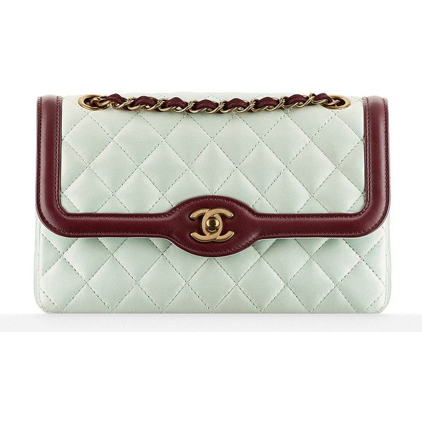 Check Out Photos and Prices for Chanel's Cruise 2016 Bags, in Stores... ❤ liked on Polyvore featuring bags, chanel and handbags