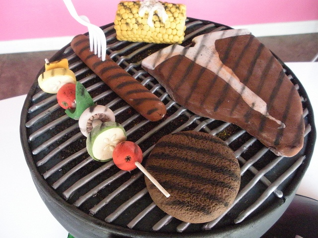 grill cake top by Caryn's Cakes, via Flickr
