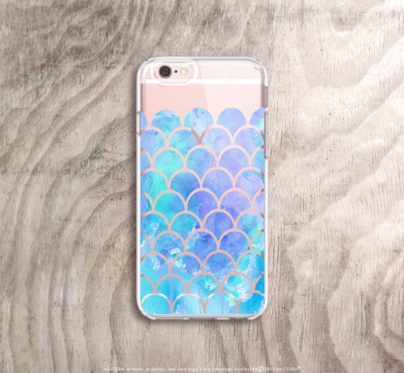 iPhone 6s Case Rubber iPhone 6S Plus Case Clear by casesbycsera