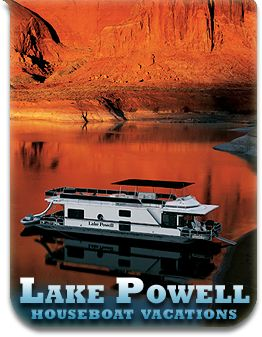 Houseboat rentals Lake Powell, Utah... Another thing I would love to do again. Great childhood memories!