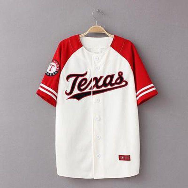 79e6ce28de5d4 Al por mayor-Béisbol Camisa de verano 2017 Nueva Hiphop camiseta de béisbol  Men Camiseta Beisbol Streetwear Mens Camisetas de béisbol XXXL Pareja  camiseta