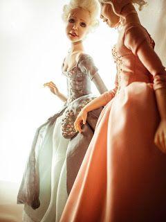 ": ""La noblesse"". Handmade Ooak ArT Dolls."
