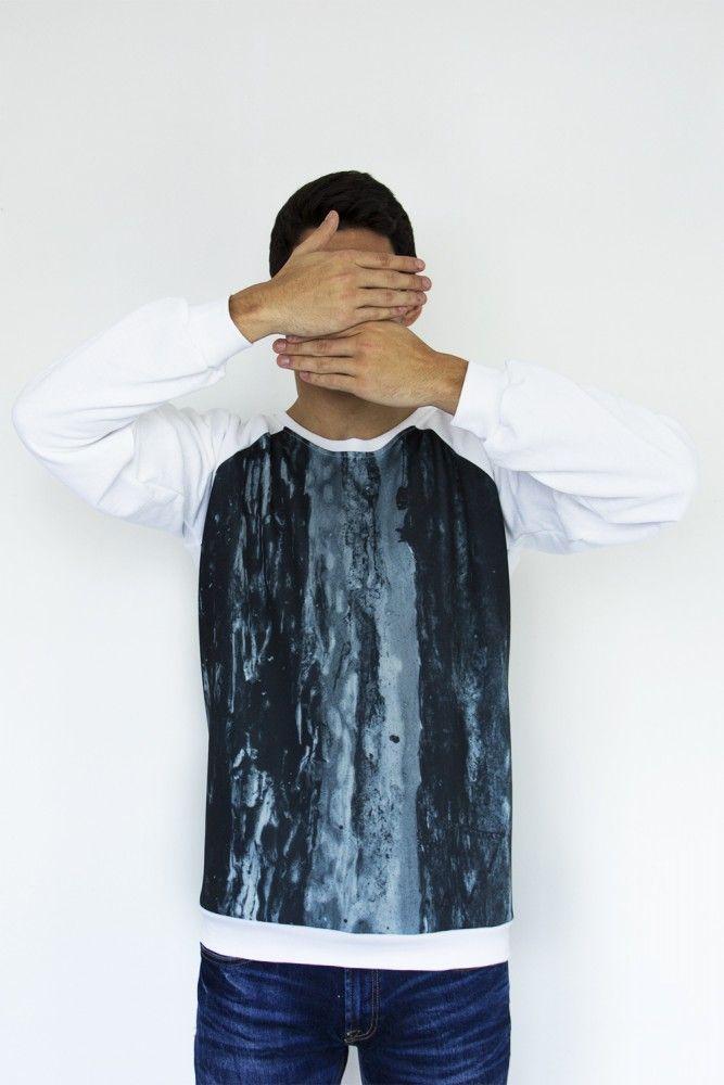 #sudadera Melancolía  Posados Reales Collection @SLIKA  #Sweatshirt #design #fashion