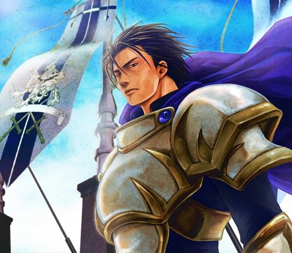 Luca Blight - Suikoden II . The real evil lord