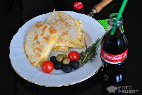 Мексиканская кесадилья