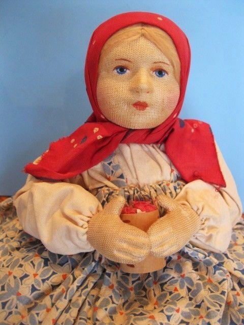 "10"" XLC Stockinette Cloth 30s Tea Cozy Cosy Russia Russian Soviet Union USSR tag"