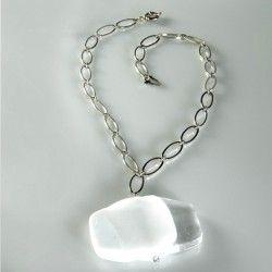 Antica Murrina Snow #Necklace White #jewellery #murano