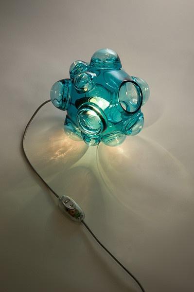 Bubblelux Lamp in Teal