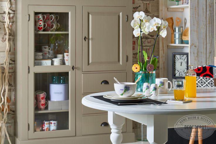 Set de bucătărie Lavender. Plate. Cups. Kitchen. Tools. Lavender. DecoDepot. Brasov.