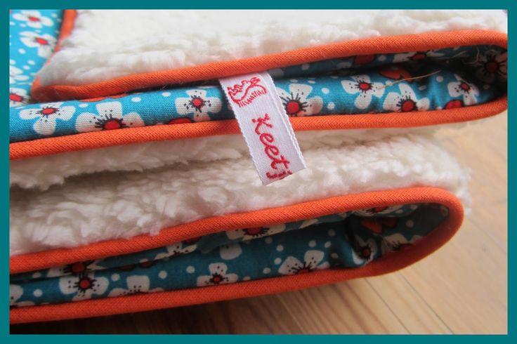 keetje knutsel baby deken met paspel DIY  www.keetjeknutselshop.nl