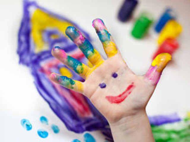 Fingerfarben mit Lebensmitteln selber machen