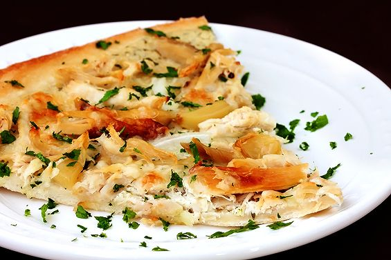 Roasted Garlic Chicken Pizza: Cravings Pizza, Pizza Recipe, Chicken Recipe, Pizza Chicken, Garlic Chicken, Gimmesomeoven Pizza, Roasted Garlic, Chicken Pizza, Nom Nom