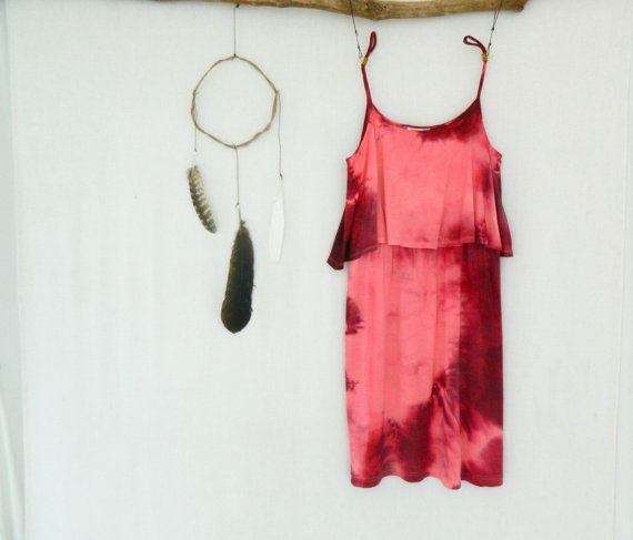 BOHEMIAN . women's tie dye dress . size 10 . by bohemianbabes