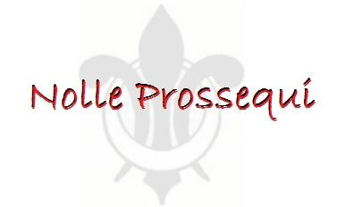 """What does it mean when a criminal case is Nolle Prossed? When a case is nolle prossed (formal term """"nolle prossequi""""), the Commonwealth has elected to dismiss the charge. The charge can be brought again one more time in the future, but for the moment, it's gone. This may be done by the prosecution in plea agreements involving multiple charges, in cases in which there is not sufficient evidence to convict, or in cases involving the potential for more serious charges."""
