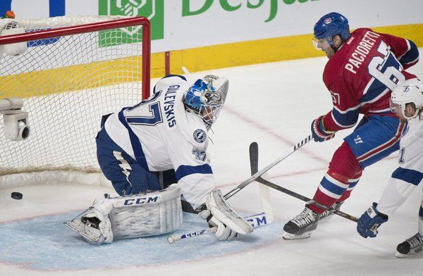Montreal Canadiens sweep Lightning, avoid scare from Latvian nemesis