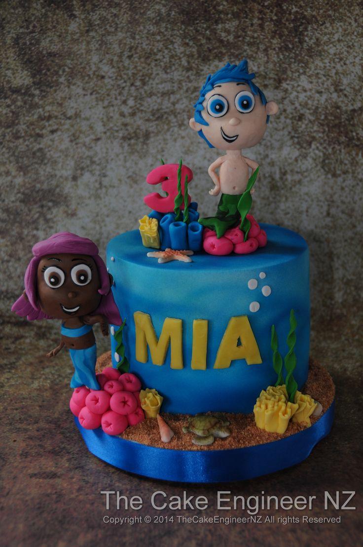 Bubble guppies cake :)
