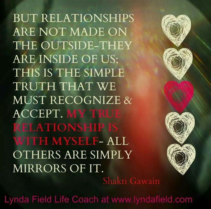 My true relationship is with myself In A Relationship With Myself Quotes