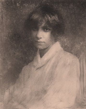 """Portrait D'une Jeune Fille """"Madame Senta"""
