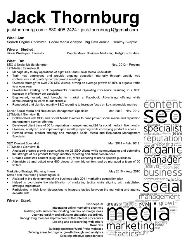 Social Media Cover Letter 58 Best Resumes Images On Pinterest  Creative Resume Design