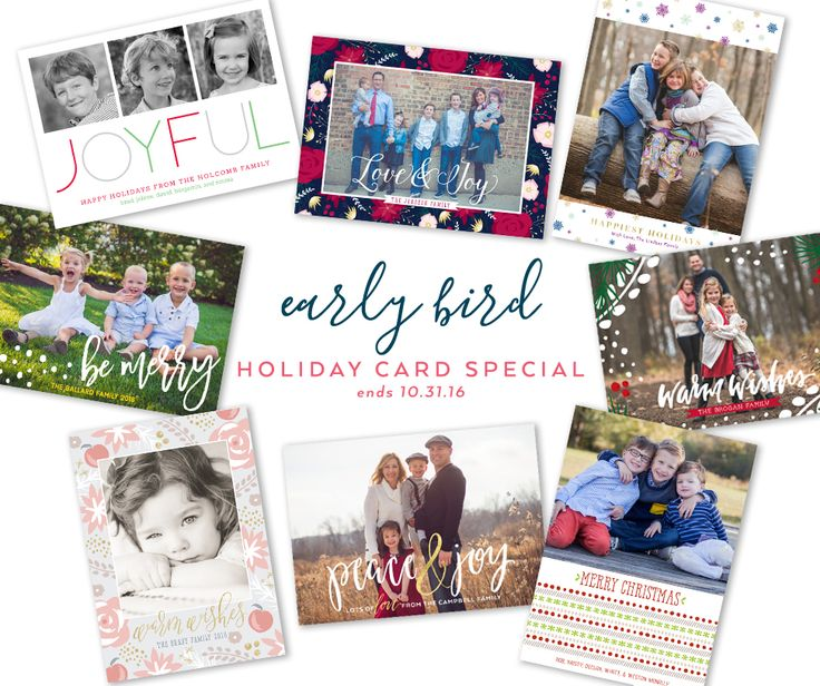 Our best deal of the season - 25% off ALL holiday cards (even custom) (code: earlybird25) + FREE printed return address envelopes (just check the box when ordering). No need to have your photo(s) ready - buy now and upload later! Cheers to a fun holiday season! ⠀ .⠀ .⠀ .⠀ .⠀ .⠀ #peonyhillpress #php #holidayseason #photocards #25percentoff #foil #glitter #memories #earlybirdspecial #holidaydeal #holidayphoto #christmascards #customcard #discount #coupon