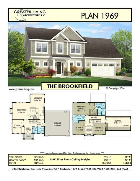 Plan 1969: THE BROOKFIELD