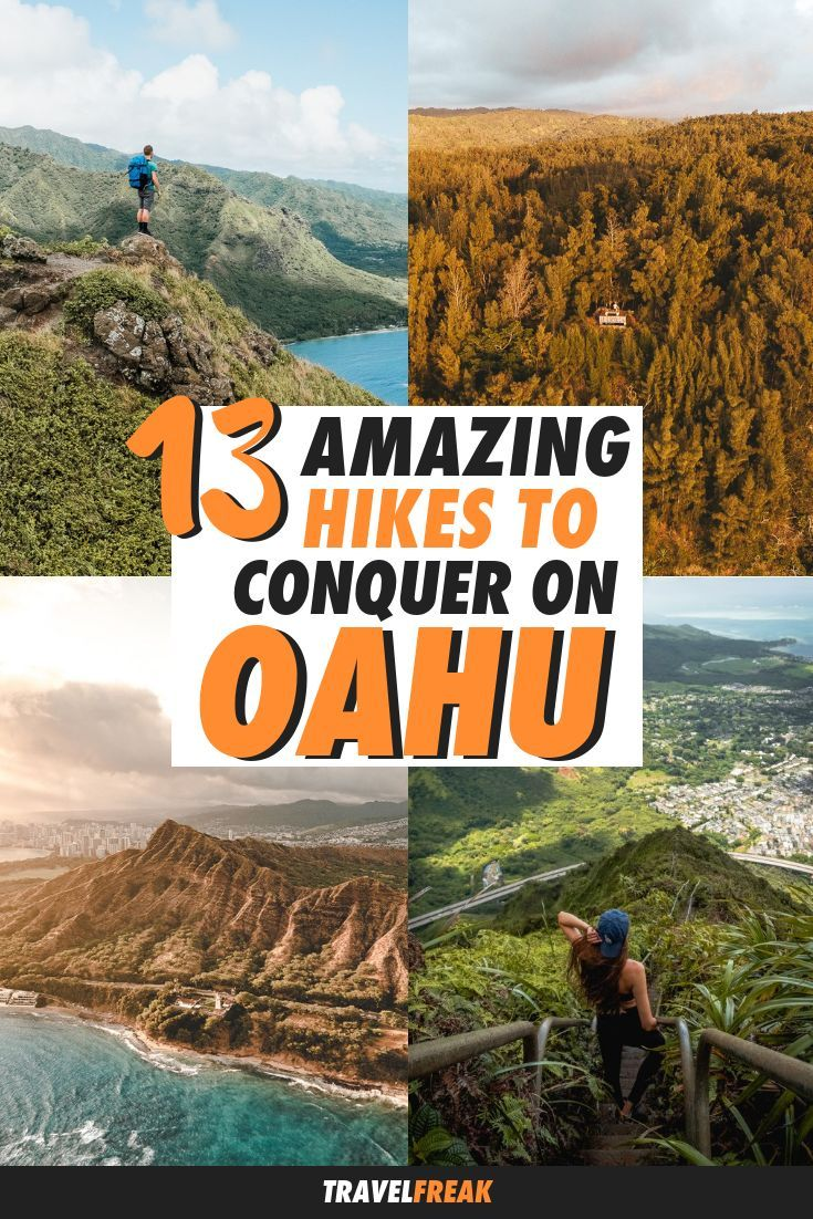 13 Insane Hikes in Oahu, Hawaii | Nature and Outdoor