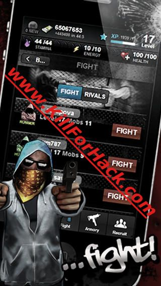 Downtown Mafia Hack - Cheats for iOS - Android Devices - Unlimited Cash App - Unlimited Stamina App - Unlimited Energy App - Unlimited Health App - Unlimited Gems App