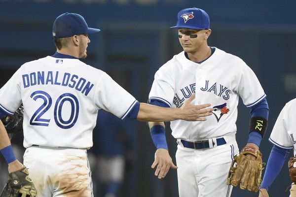 troy tulowitzki and josh donaldson Toronto blue Jays MLB baseball