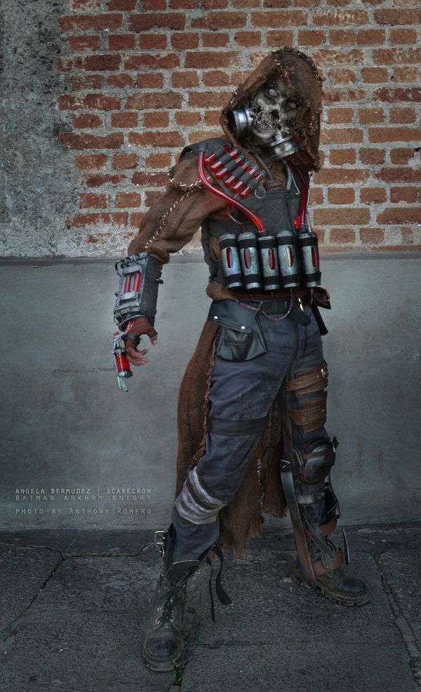 Scarecrow - Batman Arkham Knight by AngelaBermudez.deviantart.com on @DeviantArt