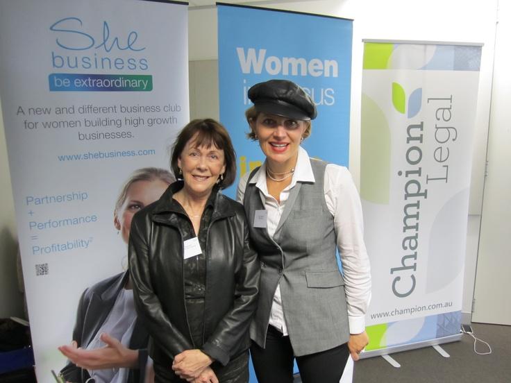 Suzy Jacobs (@she_Biz) and Jenny Hannan ready to hunt digital treasure!    http://www.videosocialmarketing.net  http://www.shebusiness.com