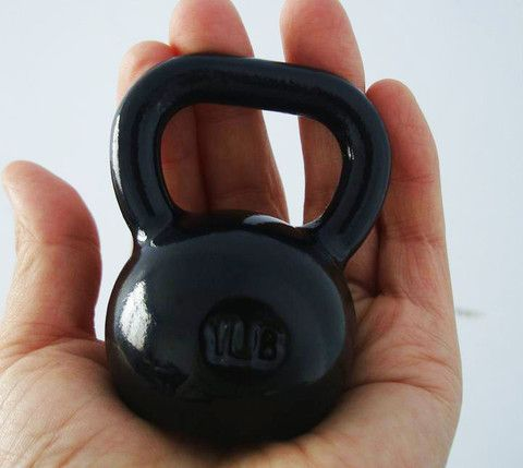 I just got my baby kettlebell in the mail!
