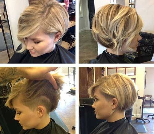 Image result for asymmetrical undercut bob
