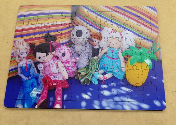 Custom wooden jigsaws made to order with your photo Various sizes and pieces