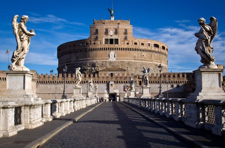 Castel Sant'Angelo: An All In One Rome History Witness. New Open Areas From Mid June 2017!! https://goo.gl/HH8nsN