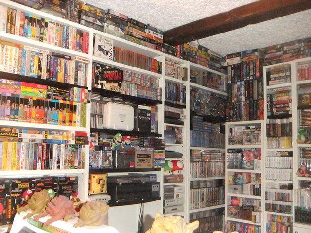Video Game Room (by Videogames Museum) / Colección de más de 30 años de videojuegos, puesta en venta en eBay por medio millón de dólares