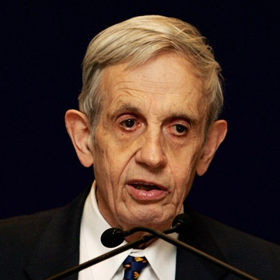 John F. Nash Jr. (Bluefield, WV) on whose life the movie ' a beautiful mind ' is based on.